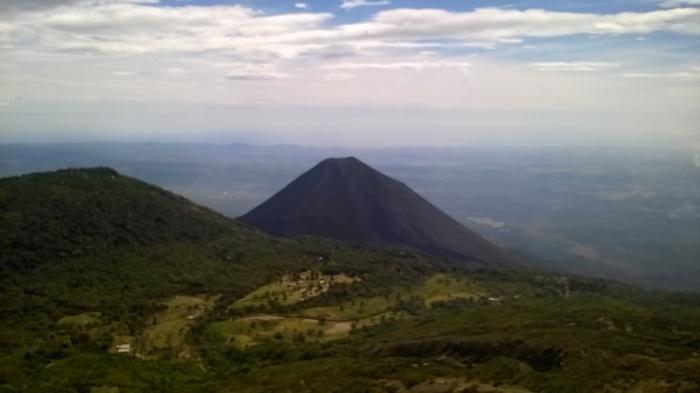 El Salvador volcano of Santa Ana