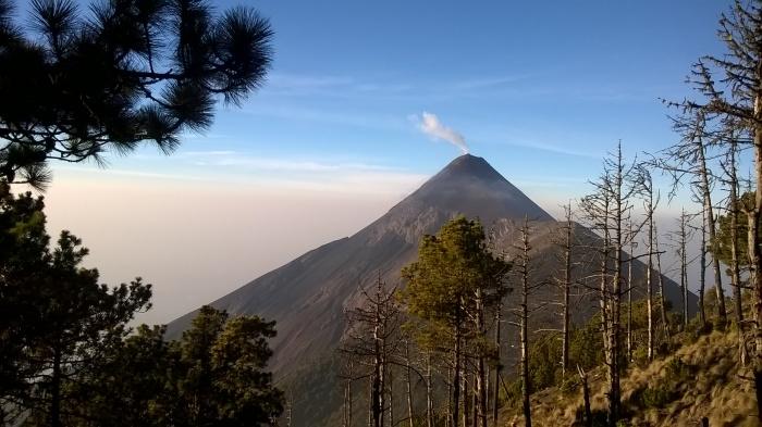 Guatemala Volcano Acatenango Camp