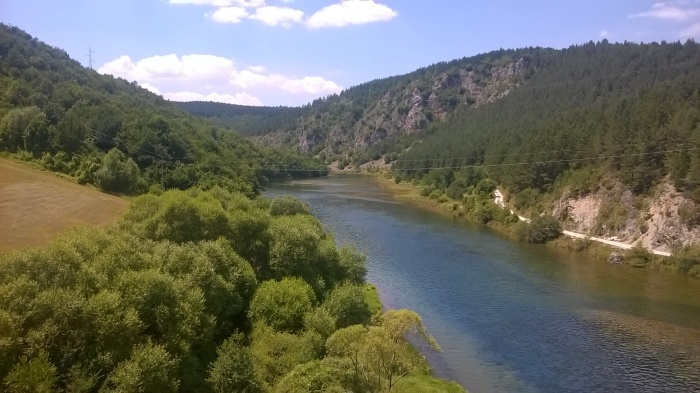 River in Serbia