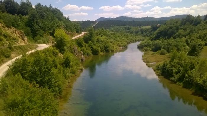 Serbia hiking