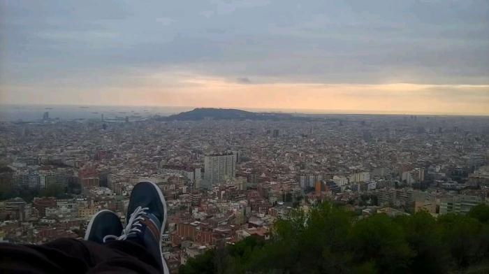 Barcelona Bunkers View