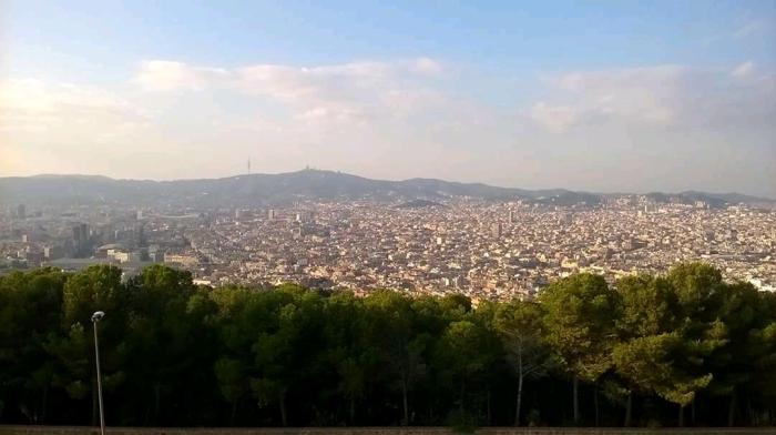 Barcelona Montjuic View