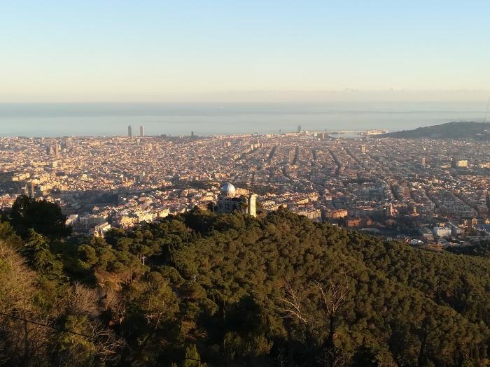 Barcelona Tibidabo View