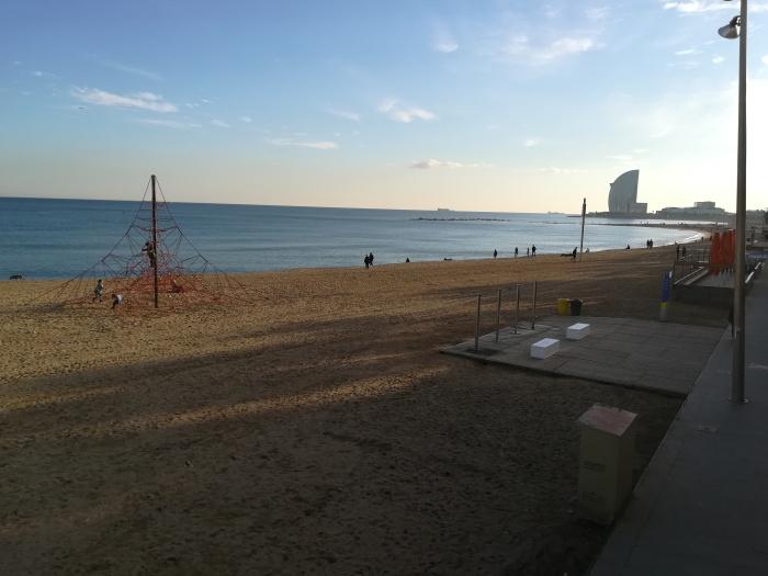 Barcelona Barceloneta Beach