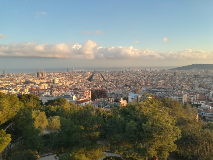 Barcelona Park Güell View