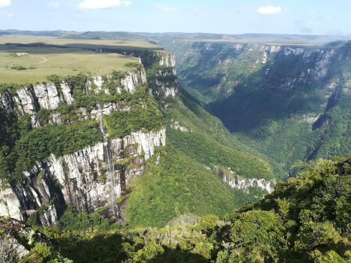 Brasil, Cambara do Sul, Canyon Fortaleza
