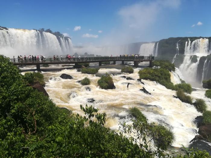 Iguazu Falls, Brasilian Side