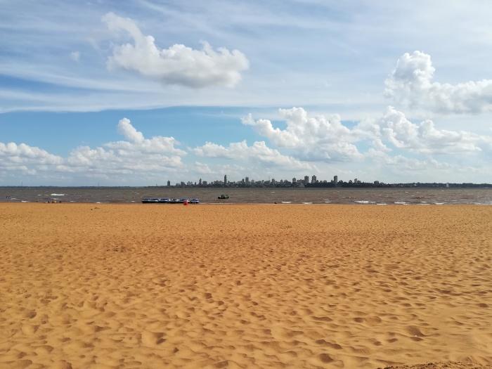 Beach in Encarnacion Paraguay