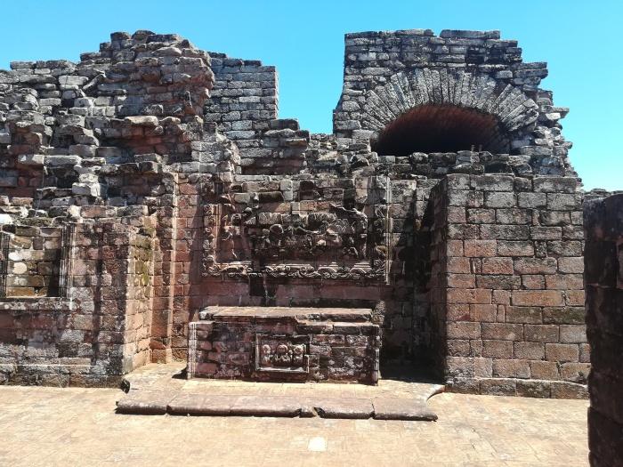 Ruins in Trinidad Paraguay