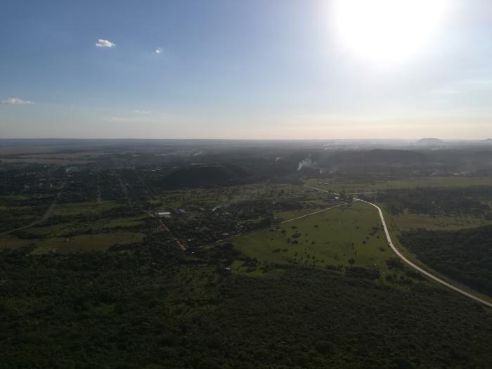 Hills outside Assuncion Paraguay
